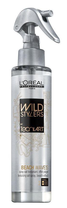 Beach Waves L'Oréal Professionnel: Spray salgado e texturizante que cria um efeito desalinhado como se tivesse saído diretamente da praia. Pode ser em cabelo seco ou húmido. PVP: 16,40€
