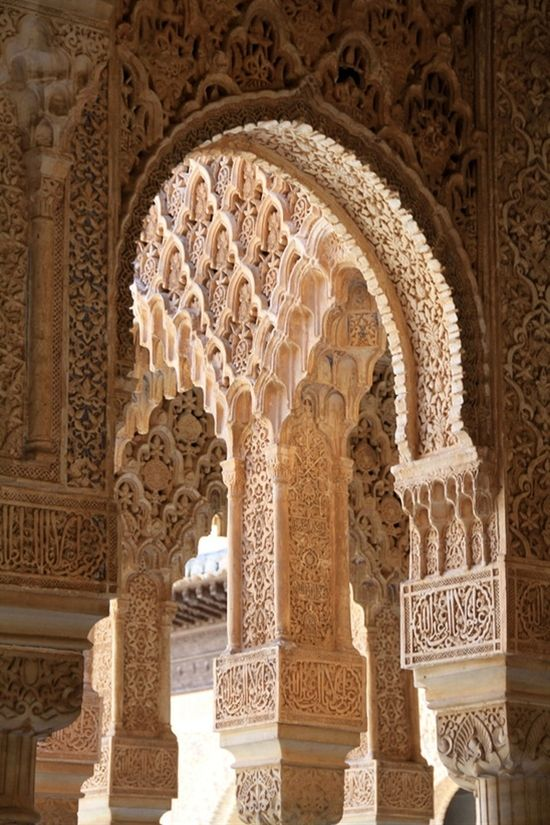 Alhambra, Granada, Spain, one of my favorite places on earth! I need to frame this for my home.