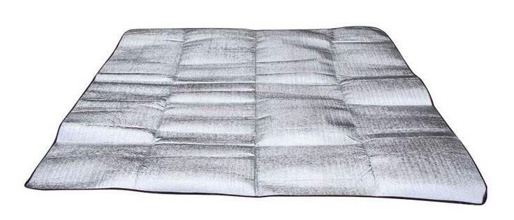Foldable Folding Sleeping f Aluminum Foil EVA  Waterproof Aluminum Foil EVA Outdoor Camping Mat Dampproof beach mat