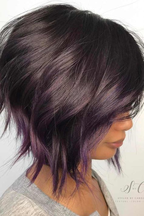 Awesome Short Hairstyle with Layers