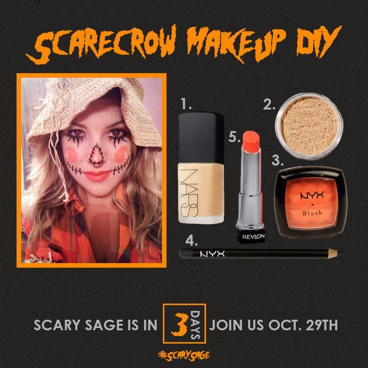 Scarecrow Makeup DIY