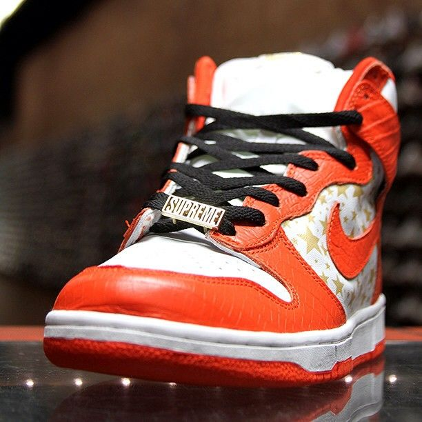 new concept 62575 32bf3 clearance nike sb supreme dunk high red 738f9 5fe24