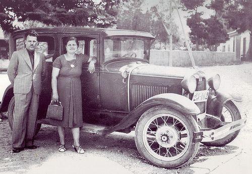 Το πρώτο ταξί στο Μοσχάτο, στις 7 Ιουλίου 1940