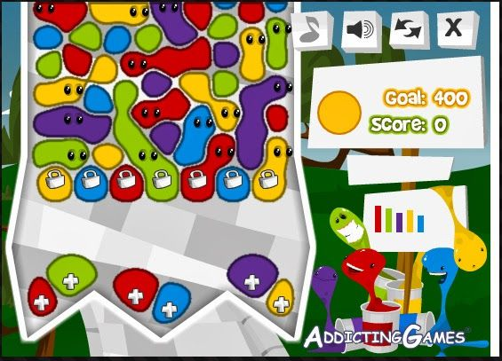 The Puzzle Den: Gluey and Gluey 2 - online puzzle games