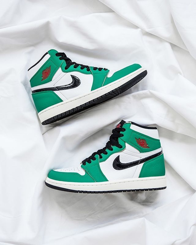Air Jordan 1 High Lucky Green DB4612-300 | Air jordans, Lucky ...