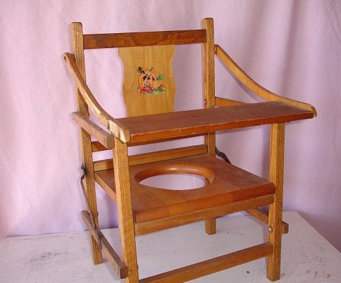 Vintage Childrens Wood Folding Potty Chair - this has been great to potty  training - thanks - 78 Best Vintage Potty Chair Images On Pinterest Memories