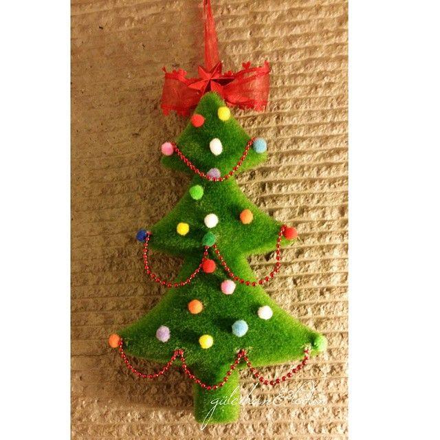 Yılbaşı Çam Ağacı Kapı Süsü (Christmas Wreath)