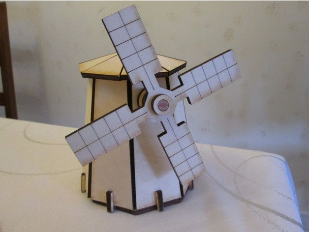 Windmill dxf File Free Download | Free DXF Files | Laser