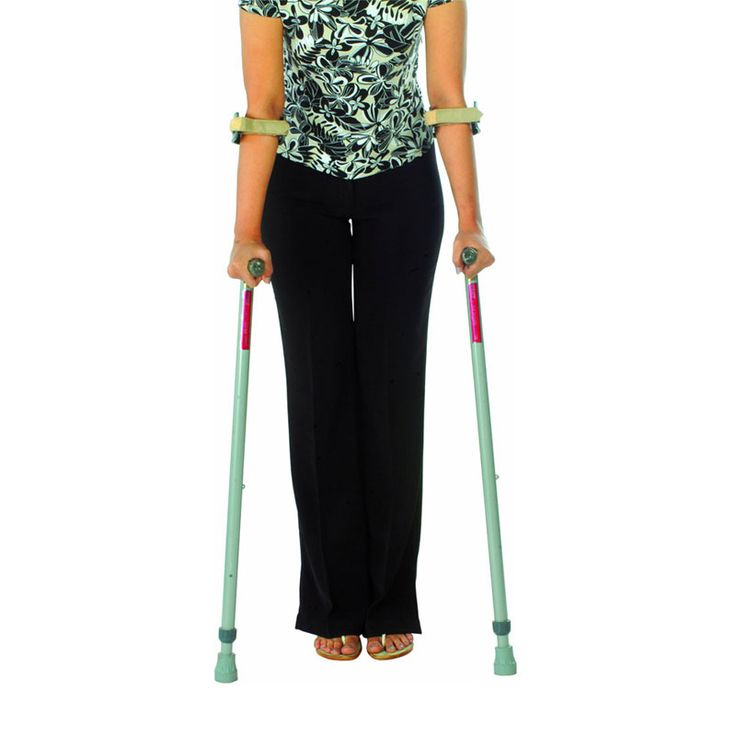 Elbow Crutches With Insert Pulley (Old Type).  #PainCare #Mywedjat #MywedjatPainCare #WalkingAids #PatientCare