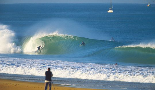 Hossegor, a surf spot to rival Biarritz