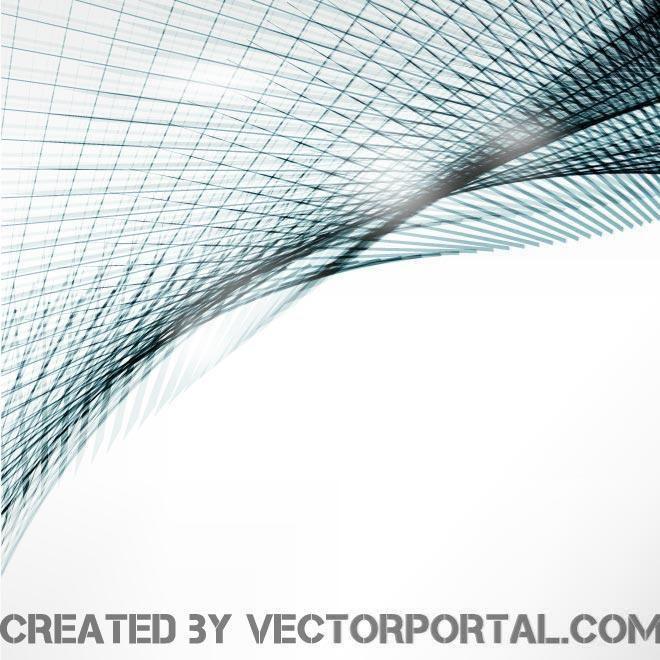 Blue lines vector design.