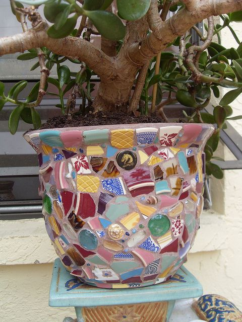 Quickie Mosaic Fun Pot | Flickr - Photo Sharing!