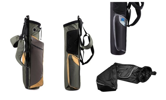 Wellzher: Quantum Lite Collapsible Sunday Golf Bag