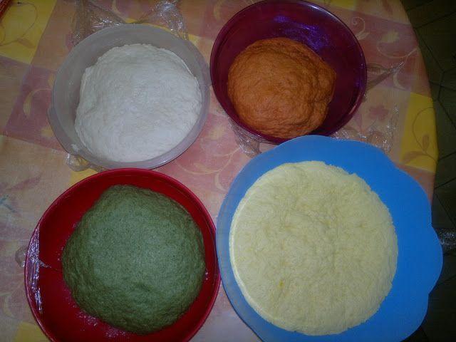 Le torte di Zia Pà: pane arcobaleno di Sara Papa