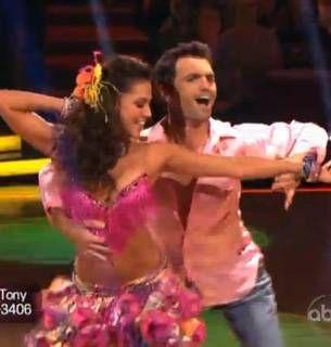 DWTS All-Stars Week 3: Melissa Rycroft and Tony Dovolani's Near-Perfect Samba (VIDEO)
