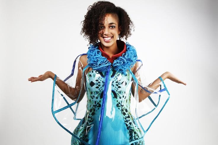 Fashion and Textile Design: Vanessa Wiggins [photographer Willow Mirza]