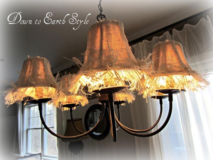 25+ unique Burlap lamp shades ideas on Pinterest   Lamp definition ...