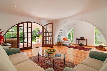 Spanish hacienda living room