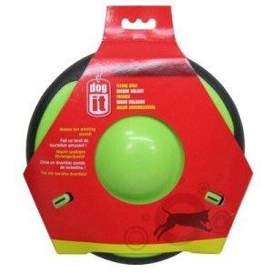 disque-volant-dog-it.- 11.30E - Le disque volant Dog It fait un bruit de tourbillon amusant au lancer Il est disponible en deux couleurs tendances (vert et orange) Périphérie en caoutchouc souple Coloris fluos pour le retrouver facilement forme incurvée pour une bonne préhension et un ramassage plus facile Diamètre : 21,5 cm