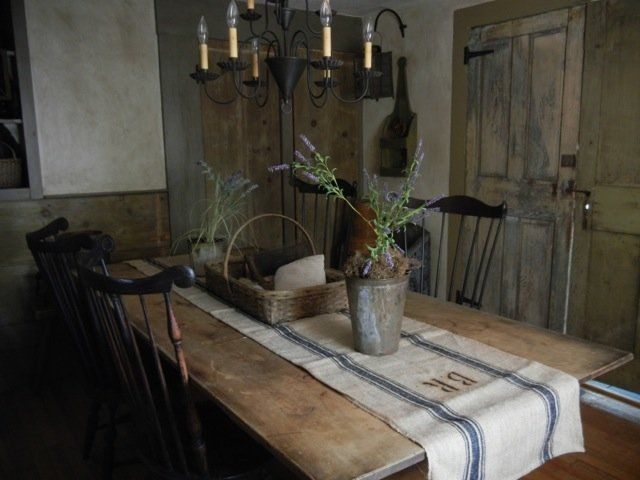 Kitchen table w herbs187 best Dinning Colonial images on Pinterest   Primitive dining  . Primitive Dining Table Set. Home Design Ideas