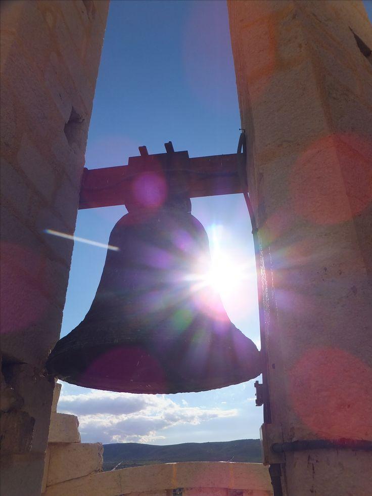 Espagne - Alcalà de Xivert Eglise, cloche