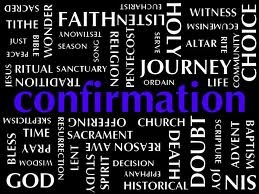 Another pretty cool Confirmation word collage.