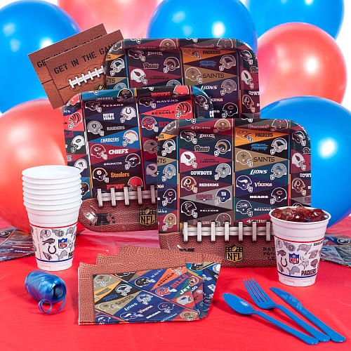 Nfl Party Zone Best Birthday Ever Pinterest Products
