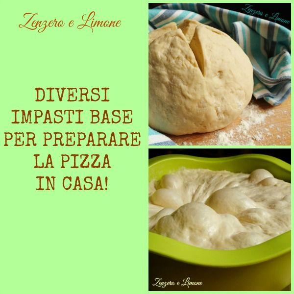 IMPASTO BASE per PIZZA FATTA in CASA