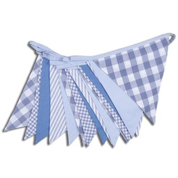 Shades of Blue Bunting - 10M £24.00
