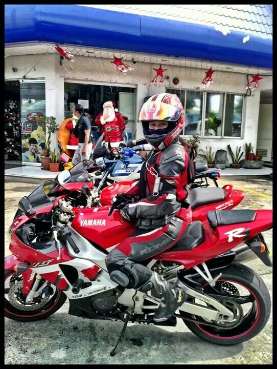 Rica and Yamaha R1