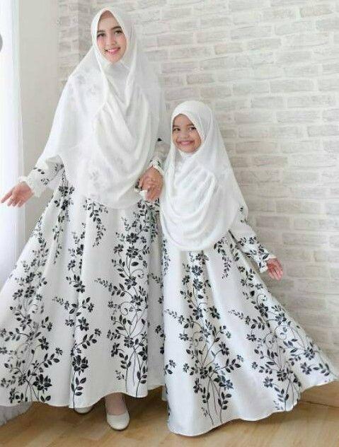 50 Koleksi Model Baju Gamis Couple Ibu Dan Anak Terbaru 2019 Wikipie Co Id Gaun Gaun Lucu Gaya Hijab