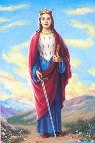 St. Dymphna | Devotional Saints | Prayer Requests | Franciscan Mission Associates (FMA)
