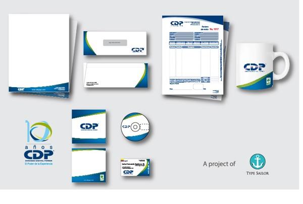 CDP Commemorative Stationery