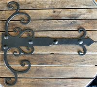 Chateauesque Iron Hinge Strap by Old West Iron