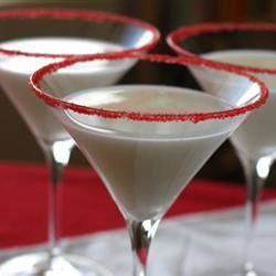 Peppermint Martini not bad