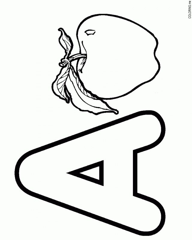 find this pin and more on letter a coloring pages