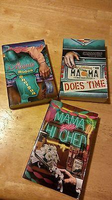 Deborah Sharp Lot of 3 Books. Mama Does Time, Gets Hitched, Rides Shotgun