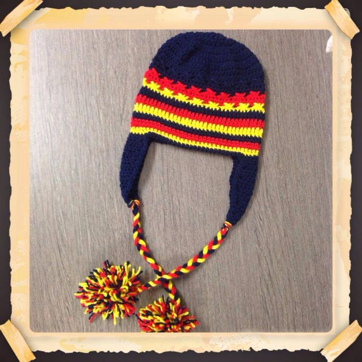 Football supporters beanie