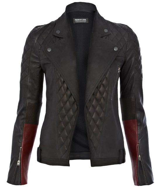 Oh man. What do I have to do to get this Black Loki Quilted Leather Jacket? I will do seriously anything.  It is everything I have ever wanted.