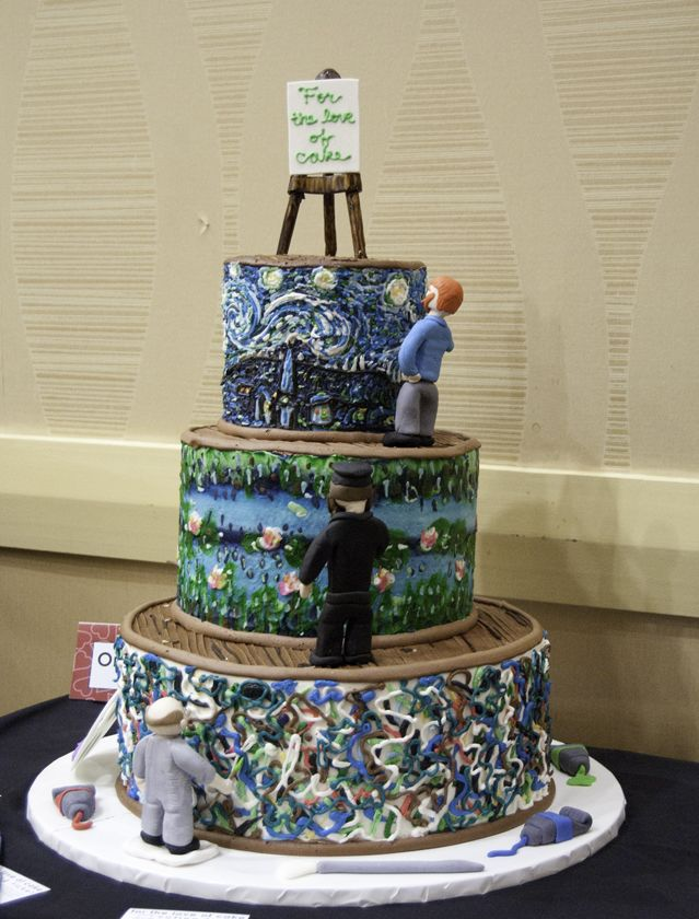 Cake And Art In West Hollywood : 25+ best ideas about Artist cake on Pinterest Art ...