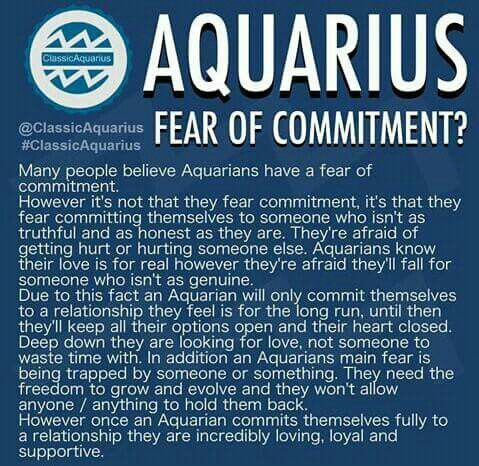 Fear of commitment?