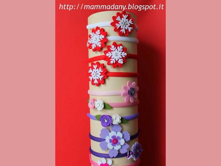 Mamma Dany, creativa per passione, realizza manufatti, accessori per capelli, biglietti e bomboniere, album di scrapbooking e lavoretti per bambini