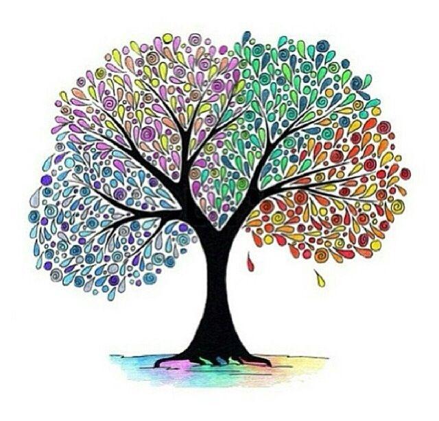 Tumblr transparents | Transparent Tumblr | Tree art, Tree ...