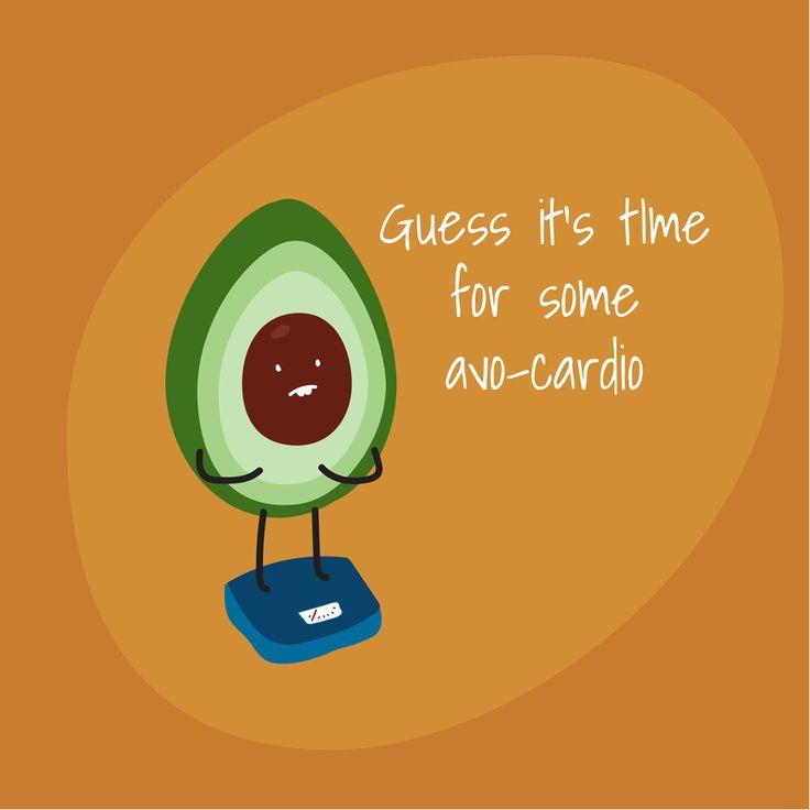 #cardio #avocado #fun #illustration