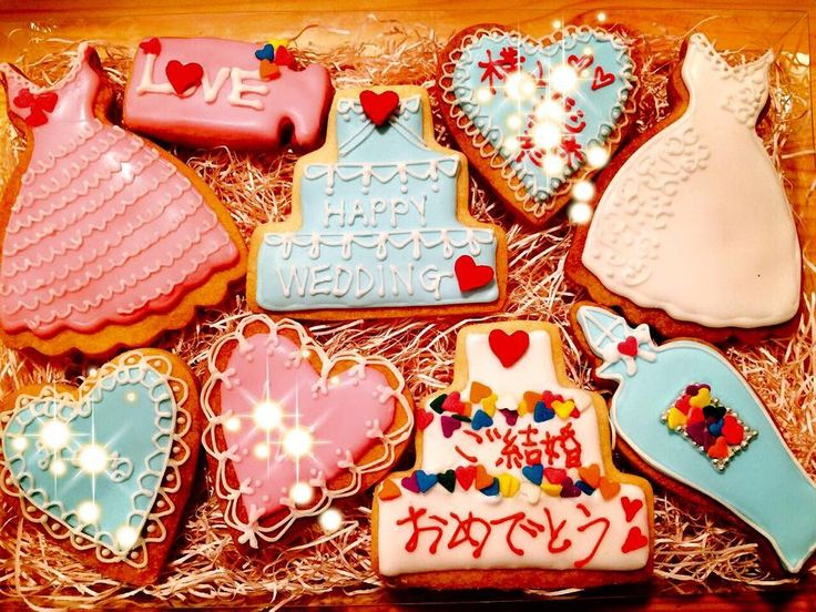 #Wedding cookies