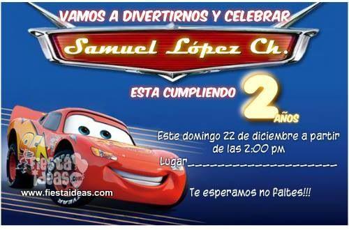 #BirthdayParty #Cars #2yearsold #invitation