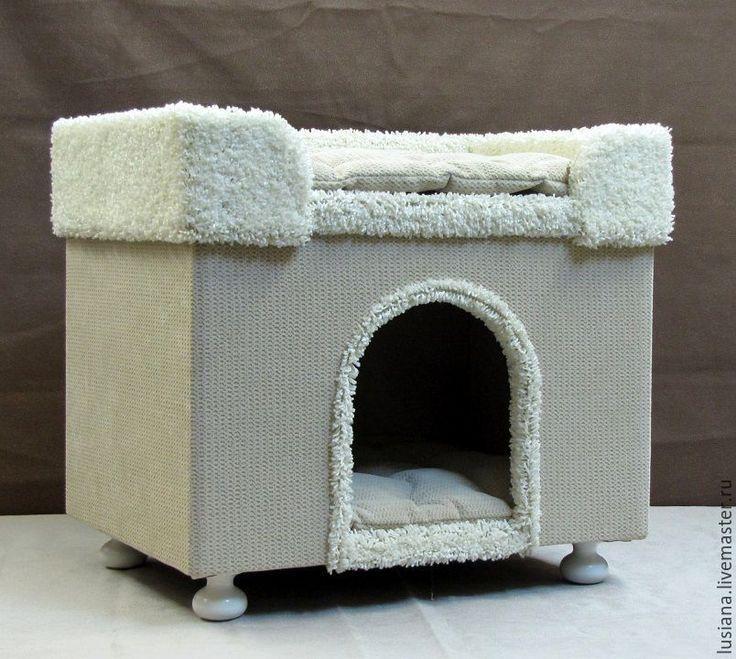 Купить Домик для собаки или кошки - домик для кошки, домик для собаки, лежанка…