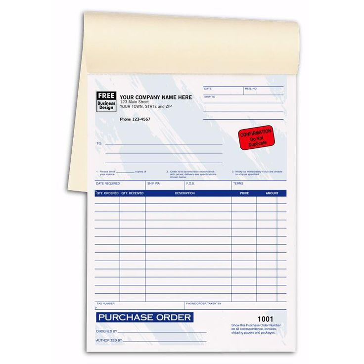 Best Purchase Order Forms Images On   Order Form
