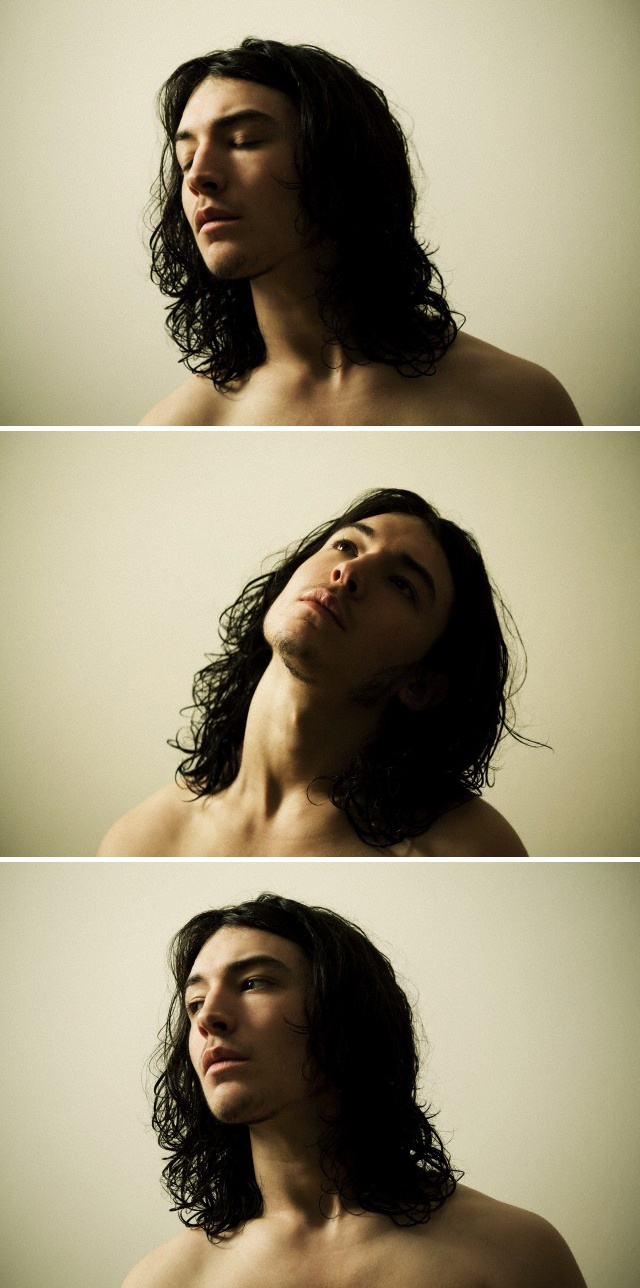 Ezra Miller, yes I'm slightly obsessed!