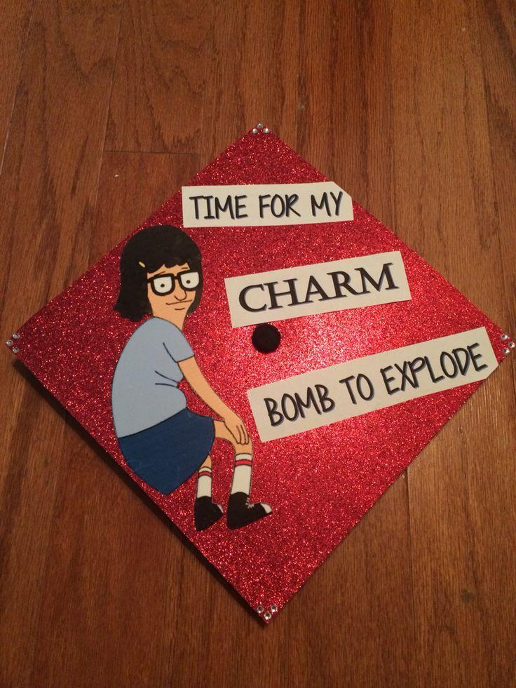 Bob's Burgers graduation cap